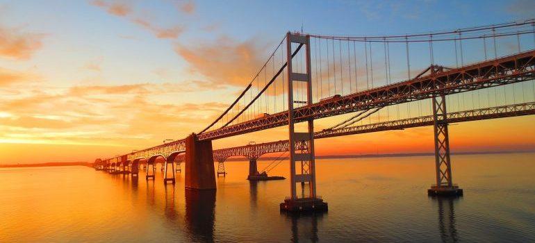 A bridge in Maryland