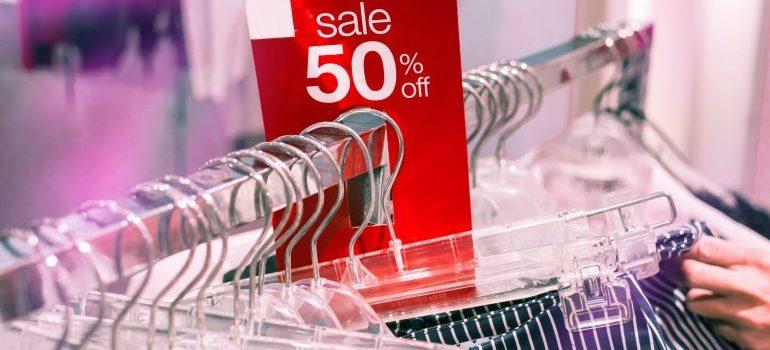organize sale