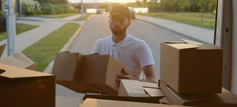 Find a moving company and prepare appliances before moving interstate