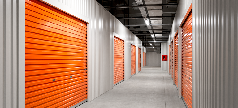 A storage facility designed to keep your storage clean and organized